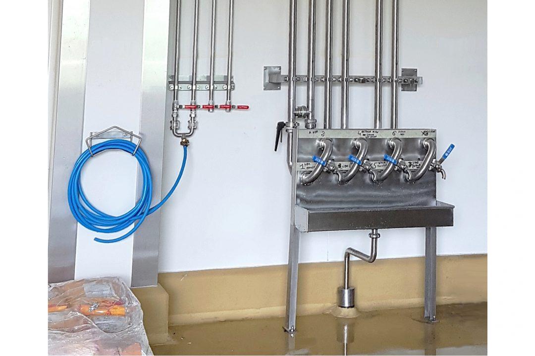 Poste d'eau et tableau de pontage | CITEC Rennes